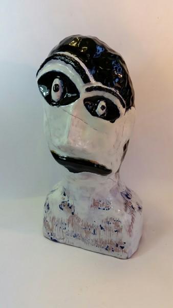 """Keraminė skulptūra """"Noriu pokyčių…""""Laura Motuzaitė7"""
