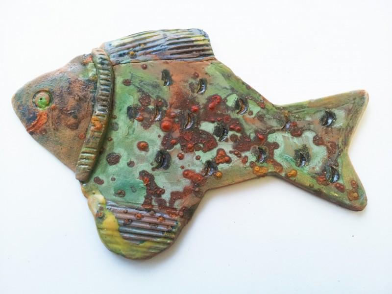 """Keramikinė žuvis """"Margė""""Sandra Bradauskienė2"""