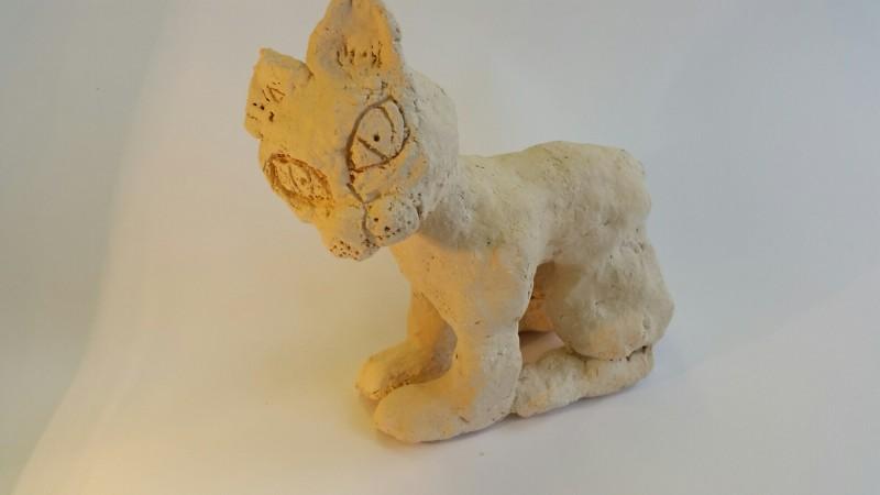 """Keraminė skulptūrėlė """"Katinas""""1"""