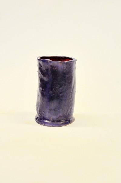 """Keraminis puodelis """"Mėlynasis aksomas""""Sandra Bradauskienė5"""