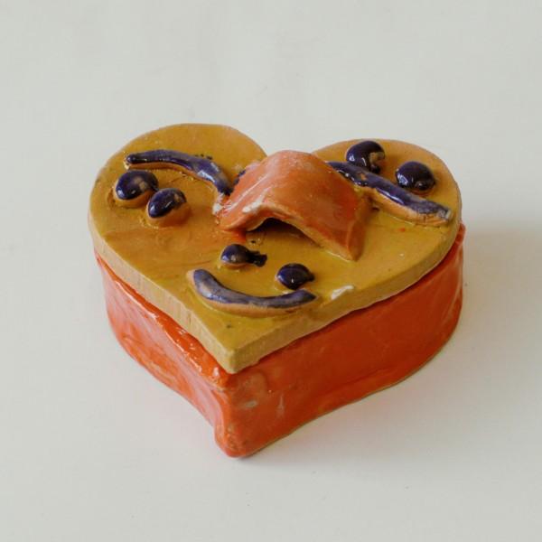 """Keraminė dėžutė """"Šidelė su šypsena""""Sandra Bradauskienė1"""