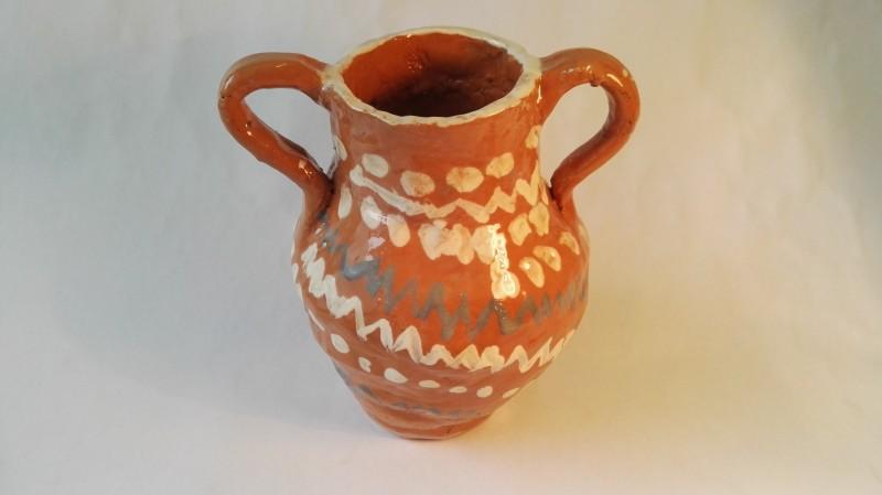 """Keramikos darbas puodynė """"Prisiminimas""""17"""