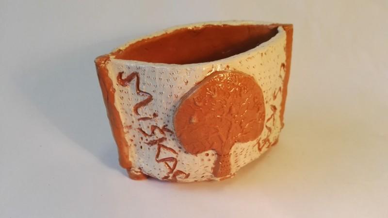 """Keramikos darbas pieštukinė """"Miškas""""3"""