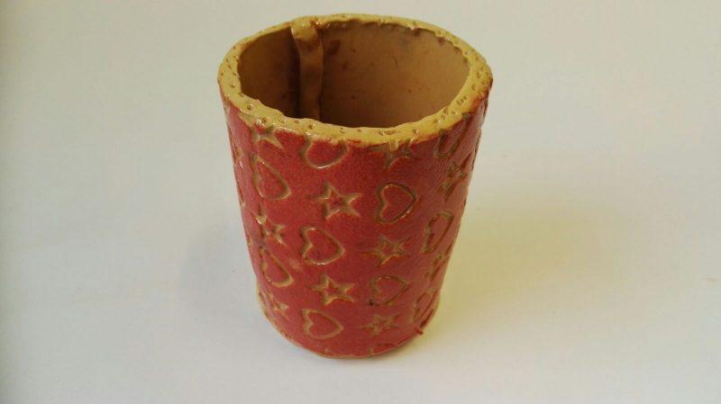"""Keraminė vaza """"Oranžinės svajonės"""""""