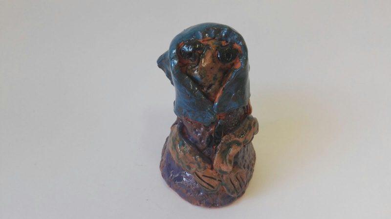 """Keraminė skulptūrėlė """"Linksma raganaitė""""37204"""