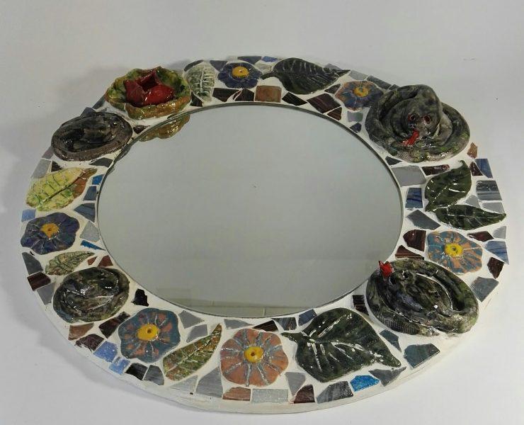 """Keraminė mozaika """"Gyvatynė""""2"""