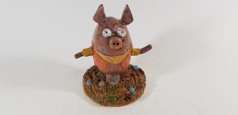 """Keraminė skulptūrėlė """"Peppa Pig""""5"""