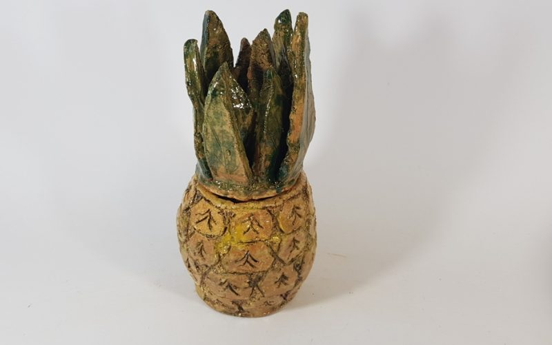 """Keraminė skulptūrėlė """"Ananasas"""""""