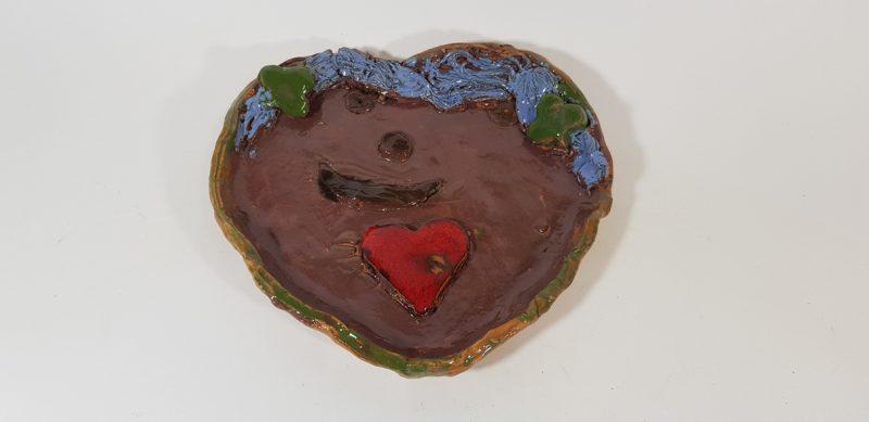 """Keraminė lėkštė """"Meilės simbolis"""""""