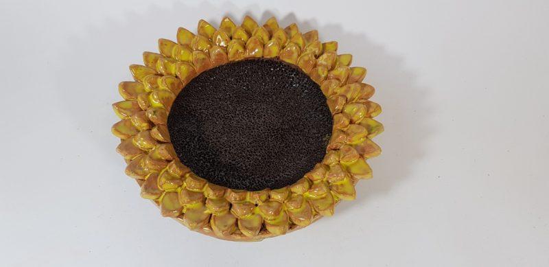 """Keraminė lėkštė """"Saulės gėlė"""""""